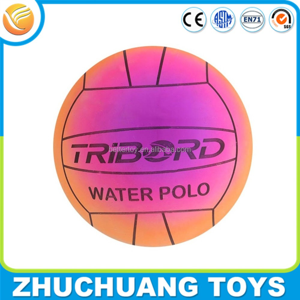 colorful pvc inflatable water polo ball for kids