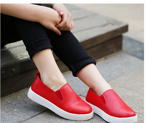in the fall spring 2016 Designers Children Casual Sneaker Girl Boy Pure Color Kids Shoes chaussure