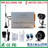 2015 Sunscreen GSM outdoor smart dialing security alarm system with external mini cctv camera SMS/MMS/Voice function BL-5050