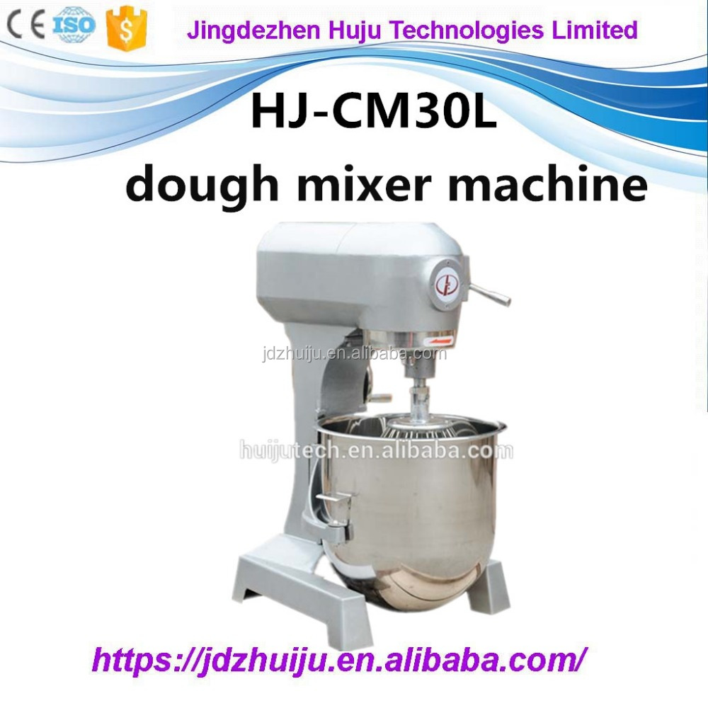 30 Liters, Digital Control, Double Speed, pizza dough mixer machine