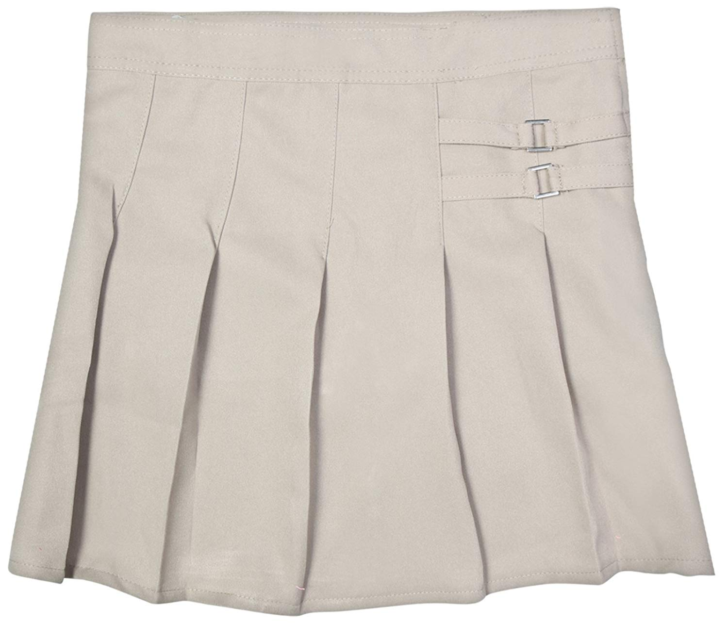 3abb09dc9f Beverly Hills Polo Club Girls School Uniform Double Waist Tab Pleated  Scooter