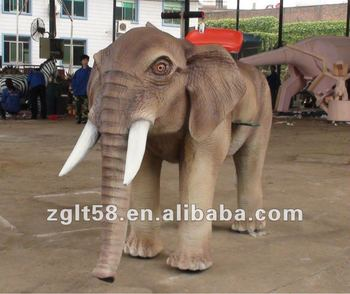 2013 NEW outdoor animal elephant rides fiberglass playground for sale