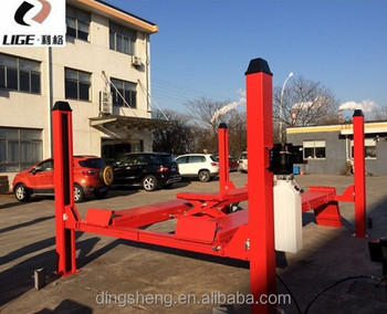 Lige Car Lift Bridge 220v 4 Post Car Lift For Sale In Floor Car Lift