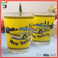 2 oz new york shot glass