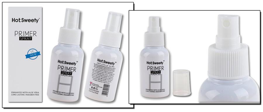 Private Label Langdurige 75 ml Base Foundation Glitter Spray, Maak Uw Eigen Merk Glitter Bodylotion