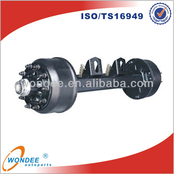 China Wondee 2014 14T European Axle for Boat Trailer Parts