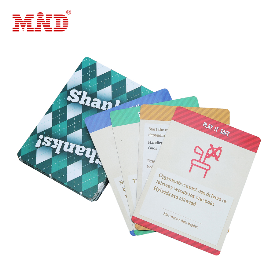 Customized Logo/Color Waterproof PVC Plastic Playing Card