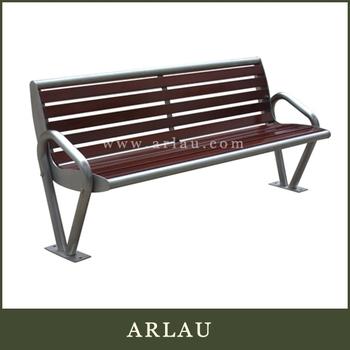 Arlau Waterproof Wooden Long Garden Benches China Cheap Outdoor Wood Furniture Wooden Patio