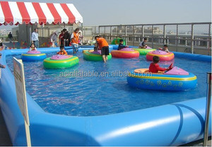 2017 New Inflatable waterpark swimming pool equipment/inflatable water pool for kids