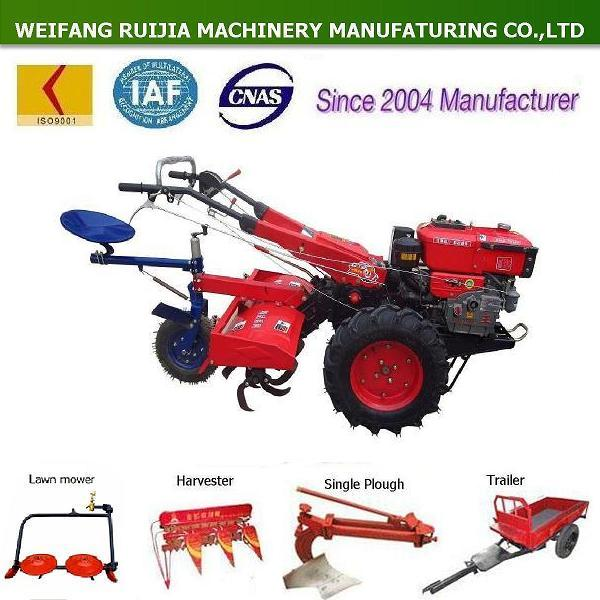 18 Hp Walking Tractor / Hand Tractor With Implements,Good Price ...