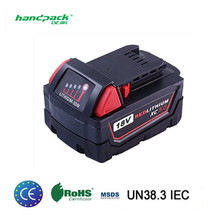M18 18V 5.0 Ah Power Tool Replacement Lithium Lion Battery Pack for Cordless Power Tool