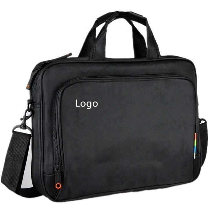 custom low price 15 computer nylon mens briefcase laptop bag business