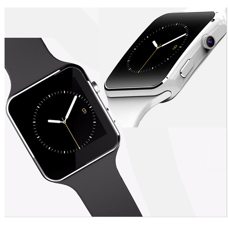 2017 Smart Watch X6 Smartwatch Pedometer Wearable Devices For iPhone Android Watch phone With Camera Support SIM Card wristwatch фото