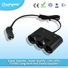 China top ten selling products 12v power adapter usb car charger cigarette lighter adapter socket