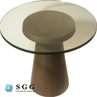 Tinted tempered table top glass, thickness 6mm 8mm 10mm