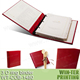 WT-COB-1480 luxury padded cover recipe binder