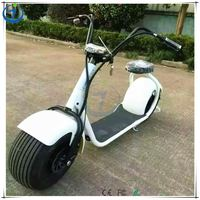 Top quality EEC 1000W citycoco 2 wheel electric scooter