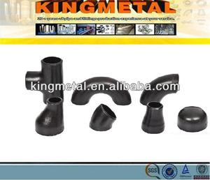 2/6/8/10/24/inch butt welded casting/forged Black Alloy/Carbon steel elbow/reducer/pipe fitting A234 WPB