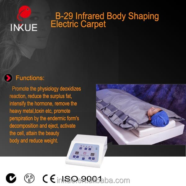 B-29 Portable 1 years warranty FIR Far Infrared Sauna Slimming Blanket for Weight Loss home or salon