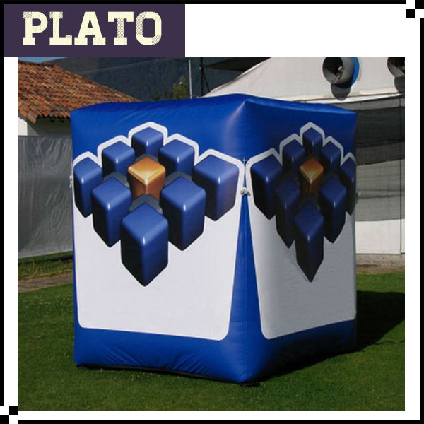 Inflatable square balloon,inflatable cube,inflatable dice