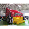Airtight inflatable equipment, kids inflatable playground bounce house with truck design