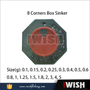 USA Fishing Company Import 8 Corners Box Set Sinker Mould