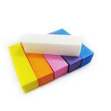6 Colors Nail File Buffer Block Pedicure Manicure Buffing Sanding Polish Pedicure Tool Nail Files Makeup Beauty Art Tools