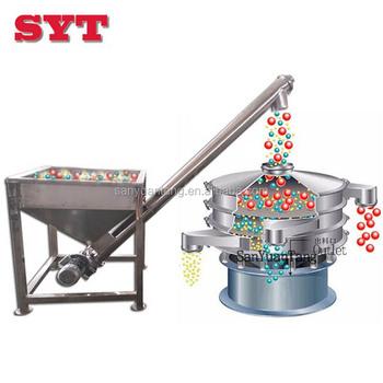 Ceramic powder vibrator hopper