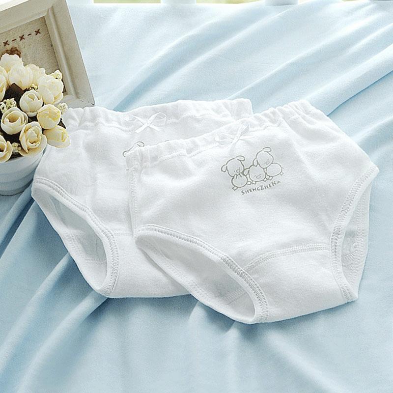 High Grade 2pcs pack Baby Girls Panties Kids Breathable Cotton Underwear Children Shorts Briefs Children Toddler