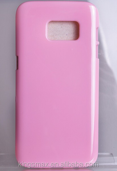 Cute Pink TPU Mobile Phone Housing Case and Bag for Samsung S7 Smart Phone Cover