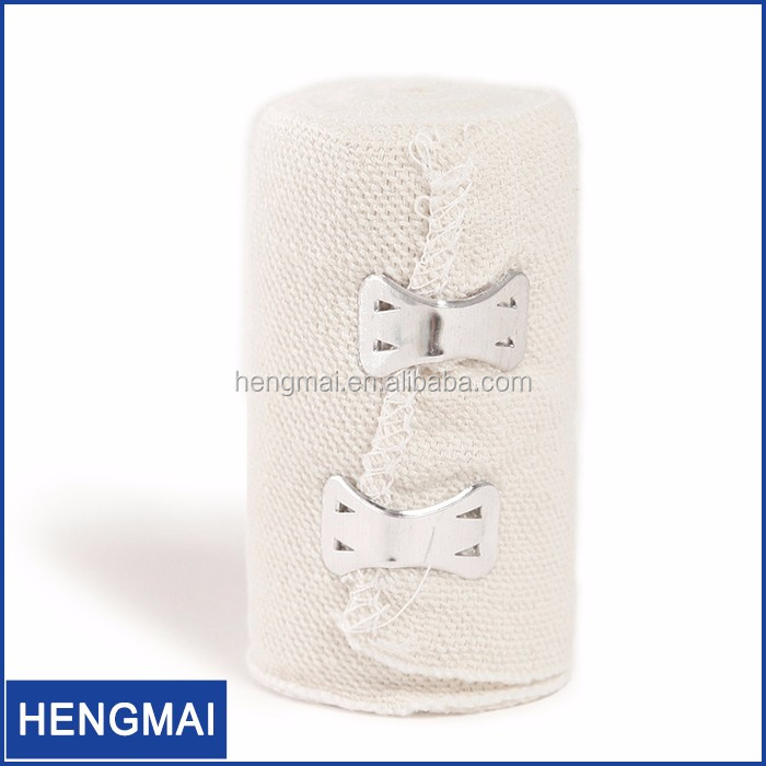Natural Color Wrinkles Cloth Crepe Elastic Bandage First Aid Bandages