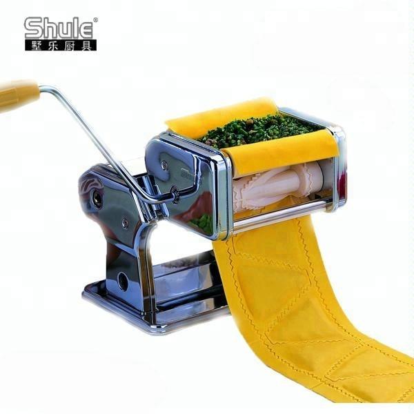 Ravioli Pasta Sheets Machine 30mm Square Ravioli