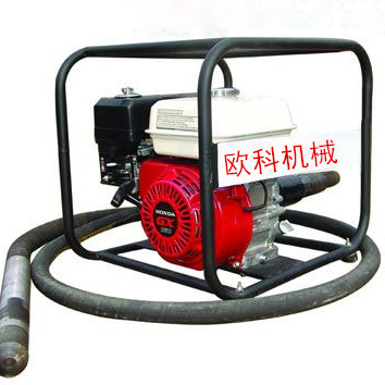 ouke brand gasoline electric portable concrete vibrator