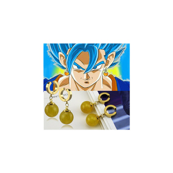 30cb84143d44 Venta al por mayor Super Dragon Ball Z Vegette Potara hijo de Goku pendiente  Cosplay pendiente