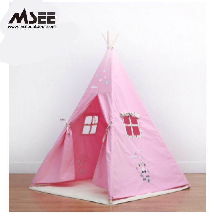 Msee Outdoor Product 5 Walls Indian Teepee Beach Tent Uv