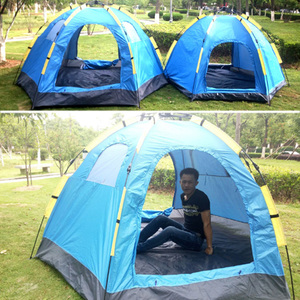 2017 Newly Products Summer Super Light 5-8 person Folding Large Family Outdoor Camping