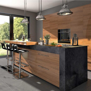 China Factory Direct Affordable Modern Kitchen Cabinet Design