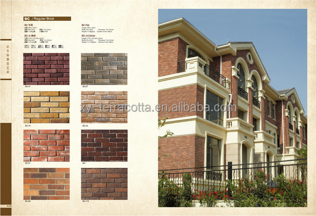 Artificial Decorate Faux Brick For Exterior Decorative