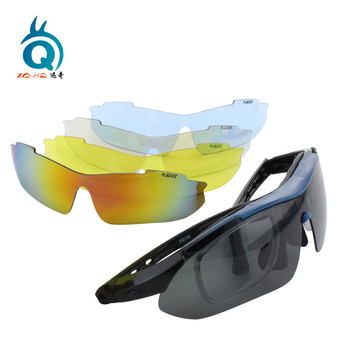 High impact UV400 outdo sports sunglasses with CE standard