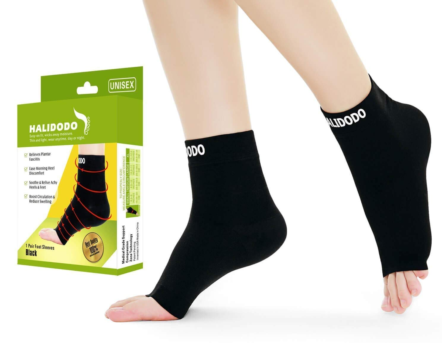 51bb6970da Get Quotations · Plantar Fasciitis Compression Socks With Arch Support For  Men&Women, Ankle Brace Compression Foot Sleeve For