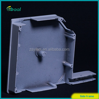 aluminum alloy side frame for outside installion cover box of 45 degree