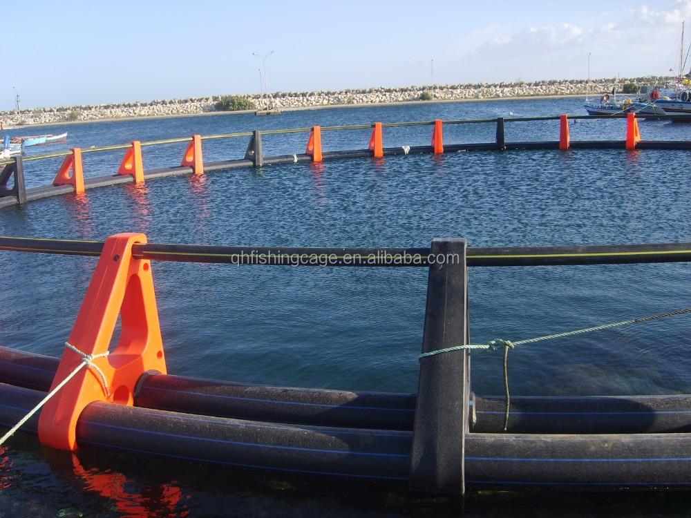 Peces flotando jaula trampa de hdpe para el mar for Jaulas flotantes para piscicultura