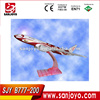aircraft ABS resin Boeing B777-200 airplane models