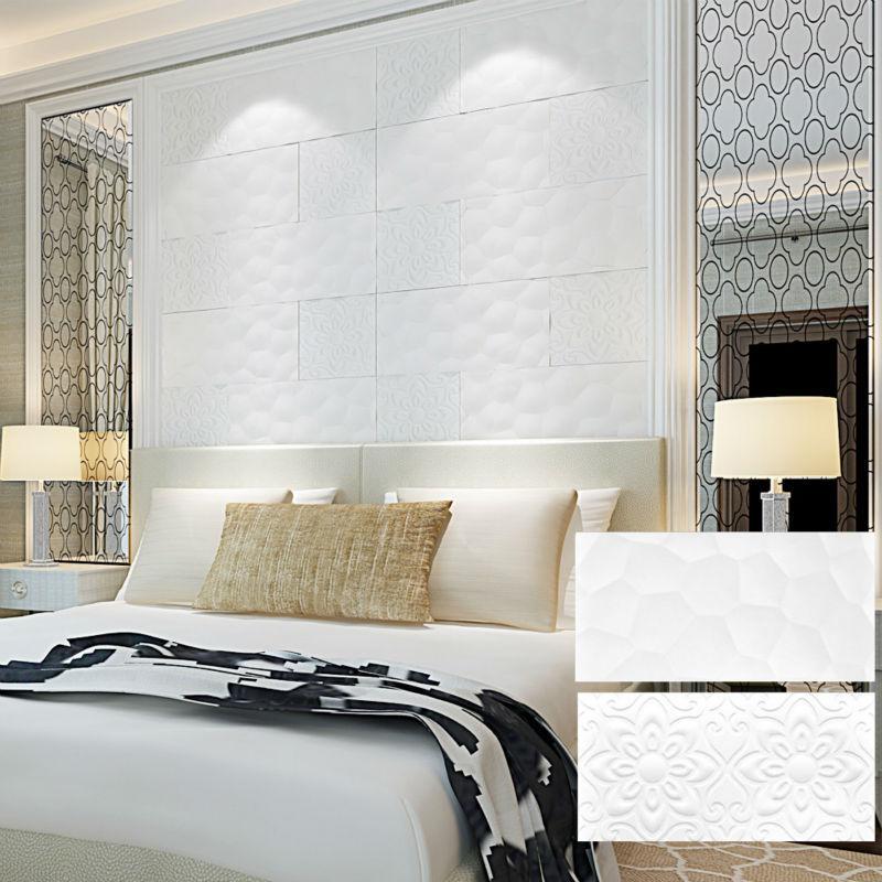 300x600 porcellana bianco mattonelle della parete per camera da ...