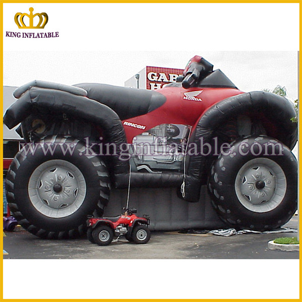 Giant inflatable motorcycle model, advertising product replica, large motorcycle replica