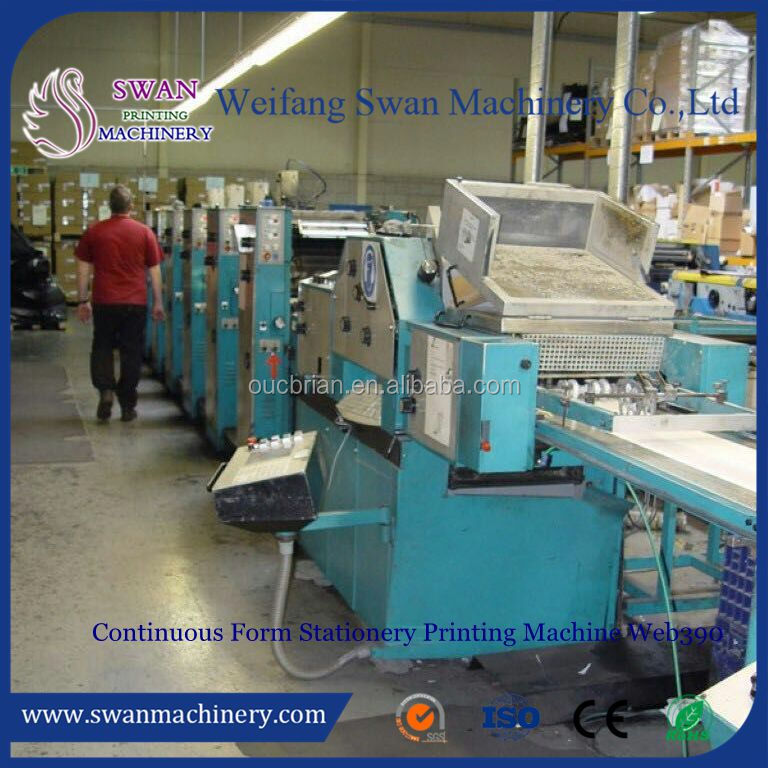 Automatic USED Continuous Form Printing Machine with numbering and cutting