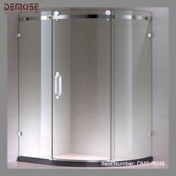 Curved Sliding Glass Frameless Shower Door Buy Frameless Bifold
