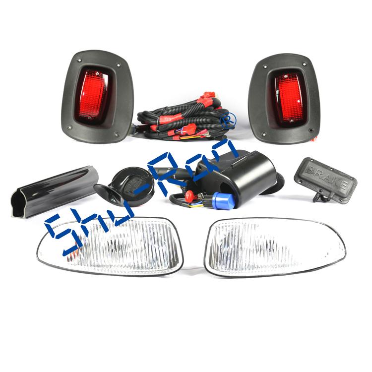 Golf Cart Adjustable Deluxe Light Kit For E-Z-GO RXV