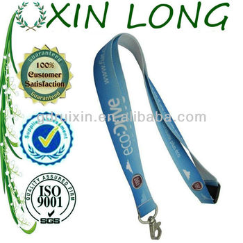 light blue release buckle lanyard for promotion