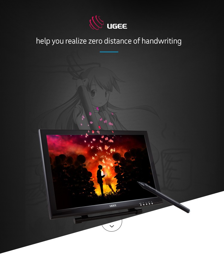Amazing Ugee Ug-1910b Dual Channel Lvds Graphic Tablet Monitor - Buy Tablet  Monitor,Graphic Tablet Monitor,Ug-1910b Tablet Monitor Product on